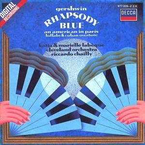 Cover - George Gershwin: Rhapsody In Blue