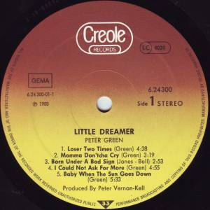 Peter Green: Little Dreamer (LP) - Bild 3