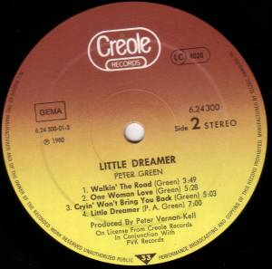 Peter Green: Little Dreamer (LP) - Bild 4