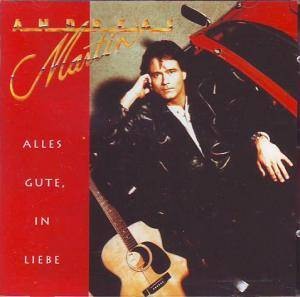 Cover - Andreas Martin: Alles Gute, In Liebe