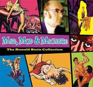 Cover - Ronald Stein: Mad, Mod & Macabre - The Ronald Stein Collection