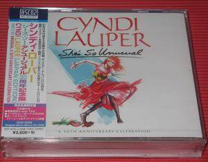 Cyndi Lauper: She's So Unusual (2-Blu-Spec CD + DVD) - Bild 3
