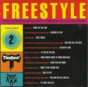 Freestyle Greatest Beats - The Complete Collection Vol 02 - Cover