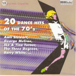 Cover - Jim Gilstrap: 20 Dance Hits Of The 70's