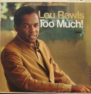 Cover - Lou Rawls: Too Much!