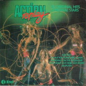 Action Replay - Cover