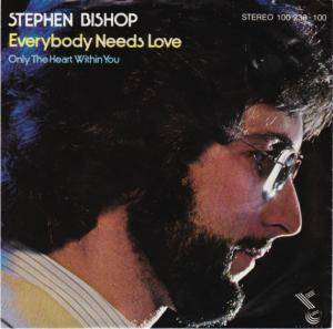 Cover - Stephen Bishop: Everybody Needs Love