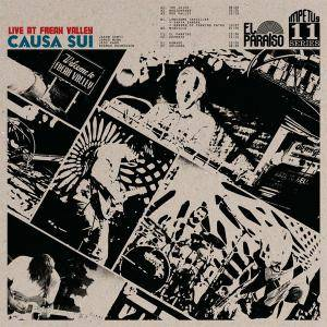 Causa Sui: Live At Freak Valley - Cover