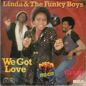 Cover - Linda & The Funky Boys: We Got Love