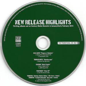 New Release Highlights - Thrilling Albums Out On Century Media Records In January / Early February 2014 (Promo-CD) - Bild 3