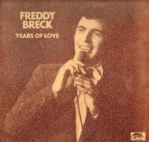 Cover - Freddy Breck: Years Of Love