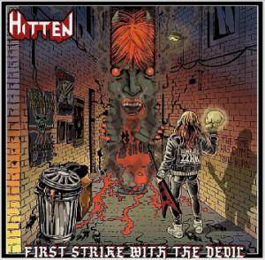 Hitten: First Strike With The Devil - Cover