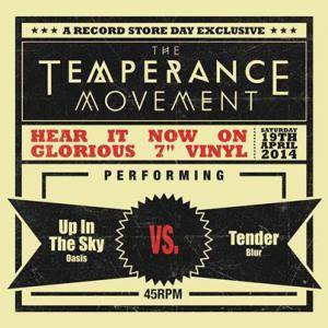 Cover - Temperance Movement, The: Up In The Sky / Tender