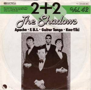 Cover - Shadows, The: 2 Plus 2