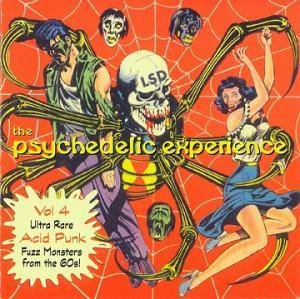 Cover - Reverbs: Psychedelic Experience Vol 4 (Ultra Rare Acid Punk Fuzz Monsters From The 60s!), The