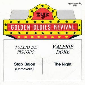 Cover - Tullio de Piscopo: Stop Bajon (Primavera) / The Night