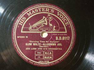 Cover - Joe Loss & His Orchestra: Allentown Jail / Once