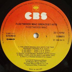 Fleetwood Mac: Fleetwood Mac Greatest Hits (LP) - Bild 4