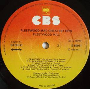 Fleetwood Mac: Fleetwood Mac Greatest Hits (LP) - Bild 5