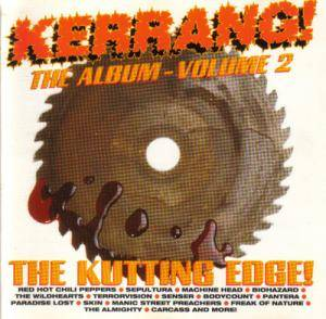 Kerrang! The Album - Volume 2 [The Kutting Edge!] - Cover