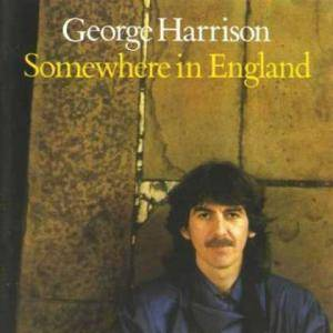George Harrison: Somewhere In England - Cover