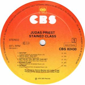 Judas Priest: Stained Class (LP) - Bild 3