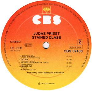 Judas Priest: Stained Class (LP) - Bild 4