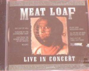 Meat Loaf: Live In Concert - Cover