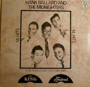 Cover - Hank Ballard & The Midnighters: 14 Hits