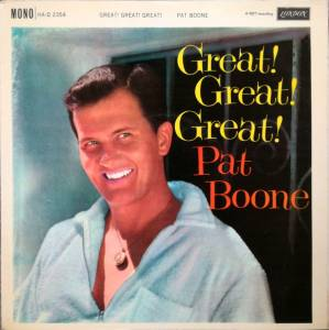 Cover - Pat Boone: Great! Great! Great!