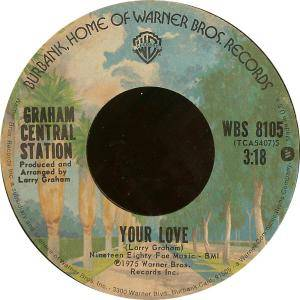 Cover - Graham Central Station: Your Love