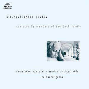 Cover - Johann Michael Bach: Alt-Bachisches Archiv: Cantatas By Members Of The Bach Family