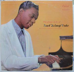 "Cover - Nat King Cole: Piano Style Of Nat ""King"" Cole, The"