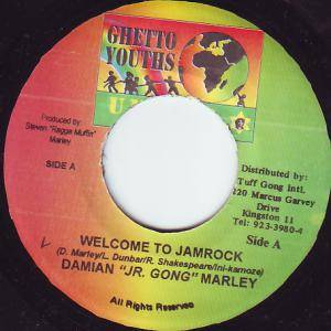 Cover - Damian Marley: Welcome To Jamrock