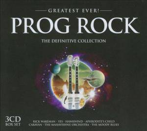 Prog Rock - The Definitive Collection - Cover