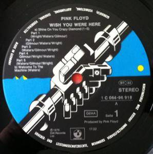 Pink Floyd: Wish You Were Here (LP) - Bild 5
