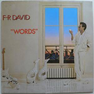 F.R. David: Words - Cover