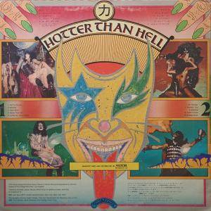 KISS: Hotter Than Hell (LP) - Bild 2