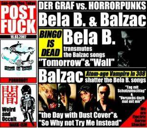 Cover - Bela B: Graf Vs. Horrorpunks, Der
