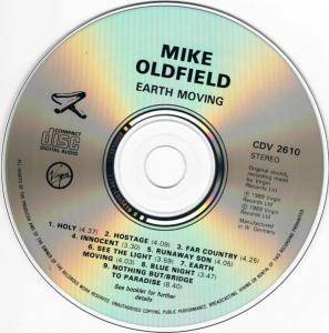 Mike Oldfield: Earth Moving (CD) - Bild 4