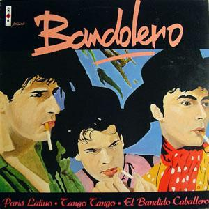 Bandolero: Paris Latino - Cover