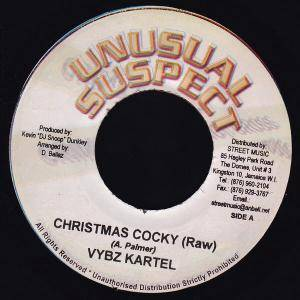 Cover - Vybz Kartel: Christmas Cocky