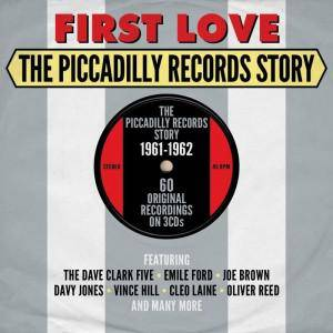 Cover - Buddy Britten And The Regents: First Love - The Piccadilly Records Story