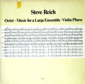 Cover - Steve Reich: Octet - Music For A Large Ensemble - Violin Phase