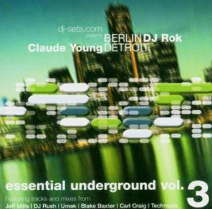 Essential Underground Vol. 3 - Berlin Detroit - Cover