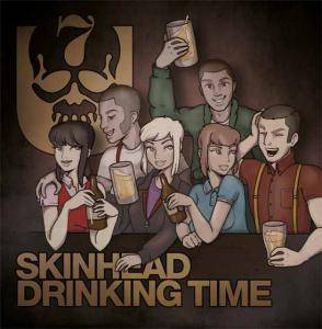Cover - 7er Jungs: Skinhead Drinking Time
