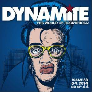 Dynamite! - The World Of Rock'n'Roll - Issue 89 - CD No. 44 - Cover