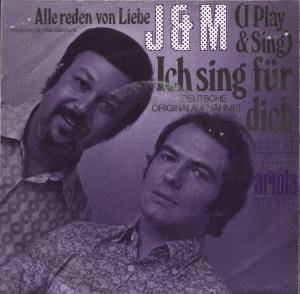 Cover - J & M: Ich Sing Für Dich ( I Play And Sing)