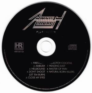 Ambush: Firestorm (CD) - Bild 4
