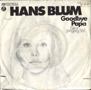 Cover - Hans Blum: Goodbye Papa